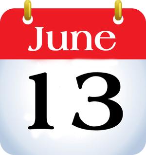 June 13.image